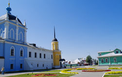 Kleines buntes Quadrat, Colomna, Russland Stockfoto