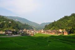 Kleines Dorf Lizenzfreies Stockfoto