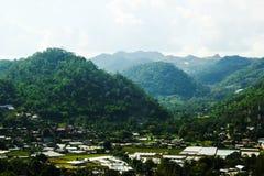 Kleines Dorf in Chiang- Maiberg, Thailand Stockfotos