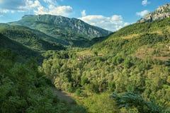 Kleines Dorf in Vlaska-Berg, Montenegro lizenzfreie stockbilder