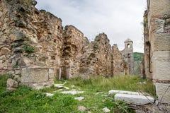 Kleines Dorf von den römischen Zeiten, Italien stockbilder