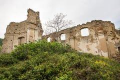 Kleines Dorf von den römischen Zeiten, Italien stockfotografie
