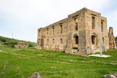 Kleines Dorf von den römischen Zeiten, Italien stockbild