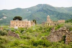 Kleines Dorf von den römischen Zeiten, Italien lizenzfreie stockfotos