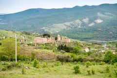 Kleines Dorf von den römischen Zeiten, Italien lizenzfreies stockbild
