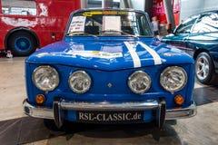 Kleines Familienauto Renault R8 Gordini als Sportauto, 1967 Stockfotografie