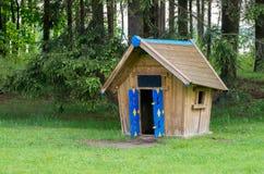 Kleines feenhaftes Haus Stockfotos