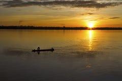 Kleines Fischerboot Lizenzfreies Stockbild