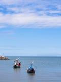 Kleines Fischerboot zwei Stockfotos