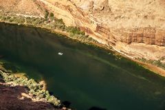 Kleines Floss auf dem Colorado Stockfotografie