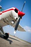 Kleines Flugzeug Stockbild