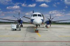 Kleines Flugzeug Stockfotografie