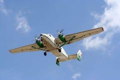 Kleines Flugzeug Stockfoto