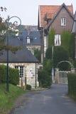 Kleines französisches Dorf Stockfotos