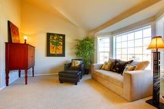 Kleines gemütliches Wohnzimmer Lizenzfreie Stockbilder