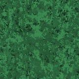 Kleines grünes endloses Tarnunghintergrundmuster Lizenzfreie Stockfotos