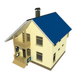 Kleines Haus Lizenzfreie Stockfotografie