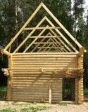 Kleines Haus des Aufbaus. Stockfotos