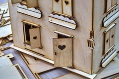 Kleines Haus des Spielzeugs Stockbilder