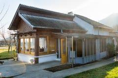 Kleines Haus Vanga in Rupite, Bulgarien Lizenzfreie Stockfotografie