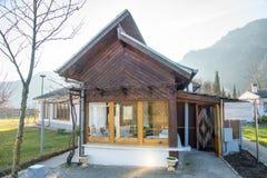Kleines Haus von Vanga in Rupite, Bulgarien Stockfotografie