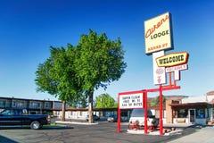 Kleines Hotel in Kanab-Stadt Lizenzfreie Stockfotos