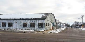 Kleines Industriegebäude Lizenzfreie Stockbilder