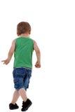 Kleines Jungengehen Stockbilder