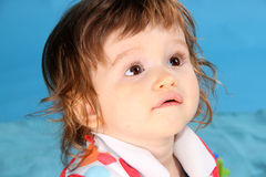 Kleines Jungenporträt lizenzfreies stockfoto