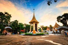 kleines königliches Krematorium für den Durchlauf König Of Thailand Lizenzfreie Stockfotografie