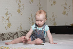 Kleines Kind Lizenzfreies Stockfoto