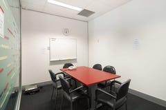 Kleines Konferenzzimmer Stockbild