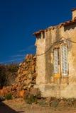 Kleines korsisches Dorf Girolata Lizenzfreies Stockfoto