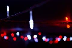 Kleines Lichter bokeh Lizenzfreies Stockbild