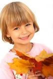 Kleines lustiges Mädchen Stockbild