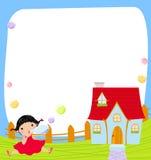 Kleines Mädchen stock abbildung
