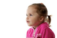 Kleines Mädchen. Stockfoto