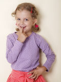 Kleines Mädchen Lizenzfreie Stockfotografie
