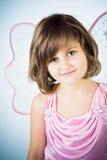 Kleines Mädchen als Fee Lizenzfreie Stockfotografie
