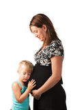 Schwangerschaft Lizenzfreie Stockfotos