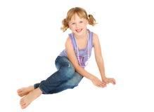 Kleines Mädchen des Landes. Lizenzfreie Stockfotografie