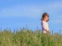 Kleines Mädchen im Freien Stockfoto