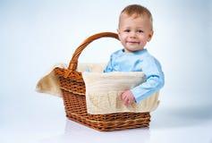kleines Mädchen im thr-Rosakleid Lizenzfreies Stockfoto