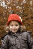Kleines Mädchen-Lächeln Stockbilder