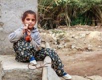 Kleines Mädchen in Leh Lizenzfreies Stockfoto