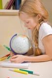 Kleines Mädchen mit blondem Lizenzfreie Stockbilder
