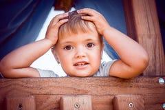 Kleines Mädchen mit schönen Augen Lizenzfreie Stockfotos