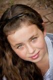 Kleines Mädchen mit schönen Augen lizenzfreies stockbild