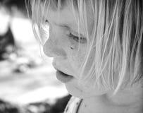 Kleines Mädchen-Nahaufnahme lizenzfreies stockfoto