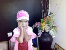 Kleines Mädchen Omaya Lizenzfreie Stockfotos